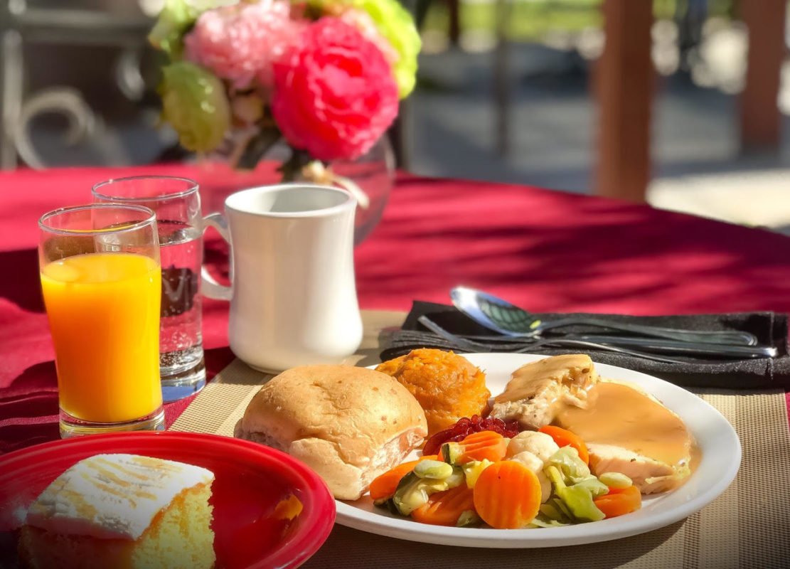 Delicious meals served every day at Eden Valley Care Center